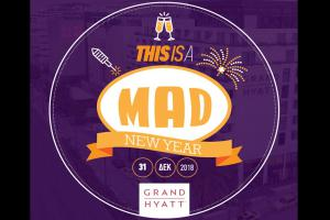 This is a... MAD New Year! A Five Star New Year's Eve Experience | Grand Hyatt Athens 31/12/2018