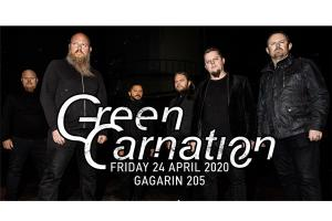 Green Carnation live in Athens 24 Απριλίου 2020 στο Gagarin 205