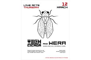 Tech Cicada and Wera solo act Live