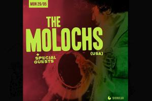 The Molochs Έρχονται Δευτέρα 29 Μαΐου 2017 στο six d.o.g.s. Opening act: Montero